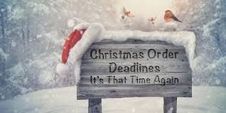 Christmas Deadlines